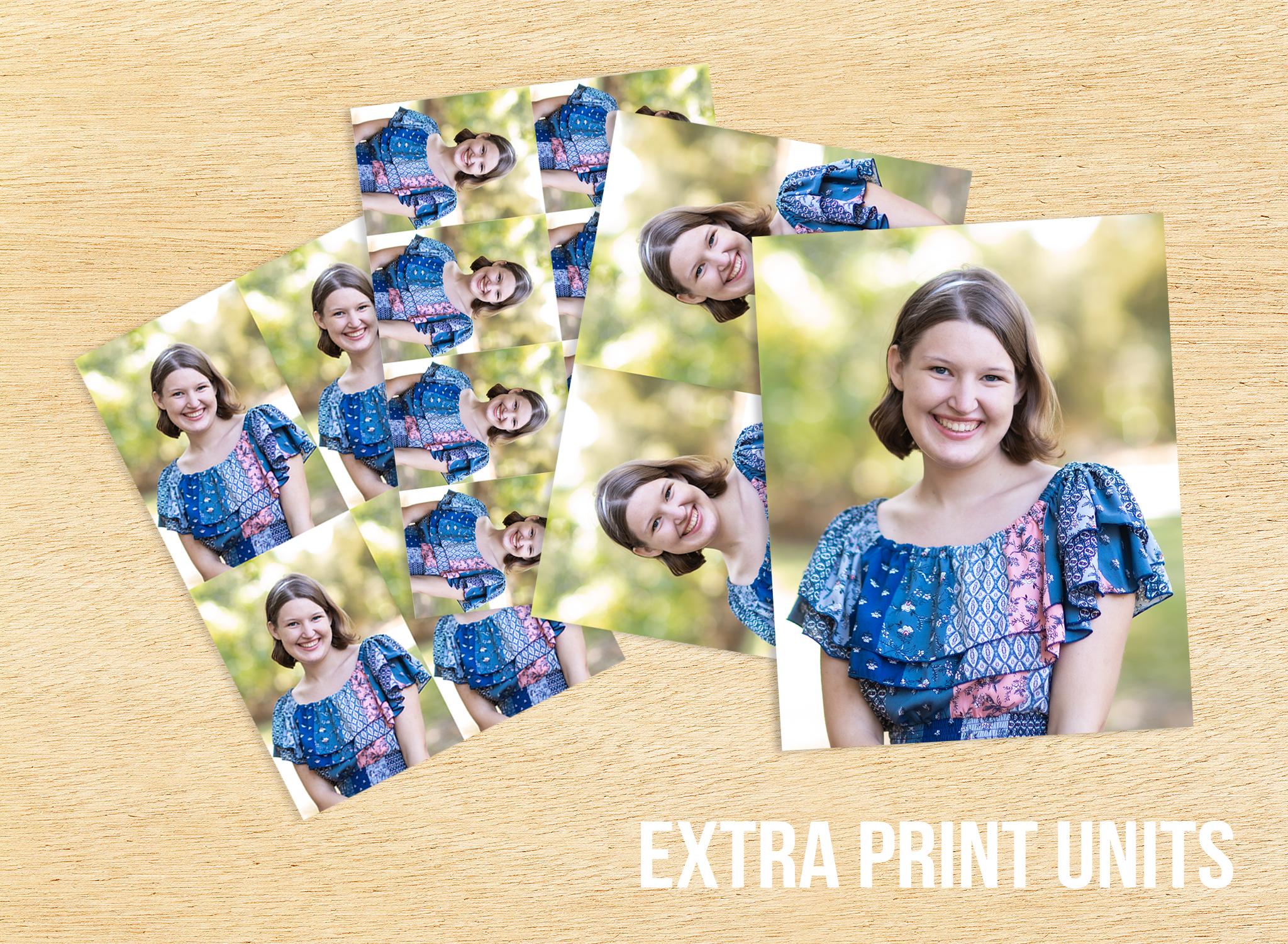 Extra Print Units